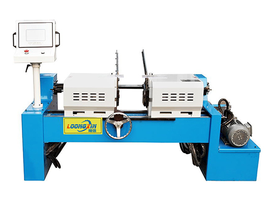 Double head long round pipe chamfering machine LX-50SM
