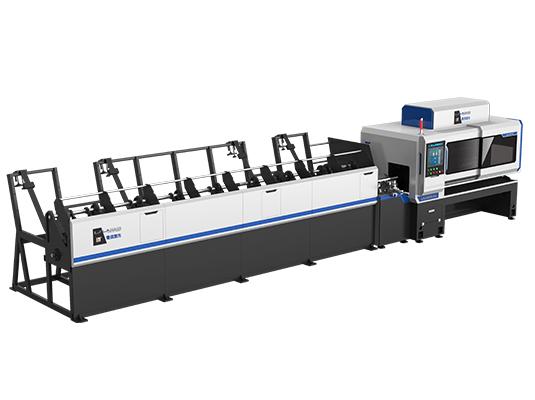 Ultra-rapid speed laser tube cutting machine