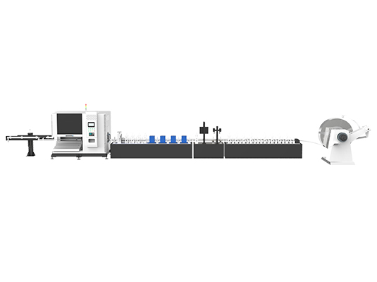 Stainless steel tube mill & online laser cutting production line