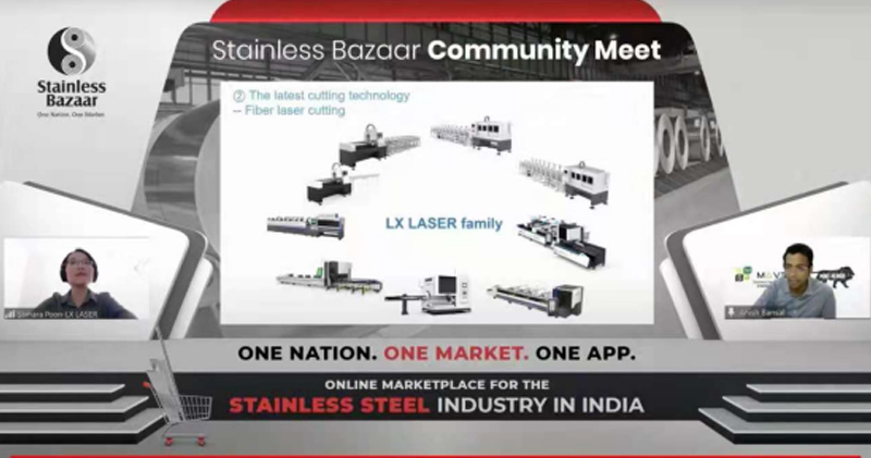 LX Laser was invited to attend India's