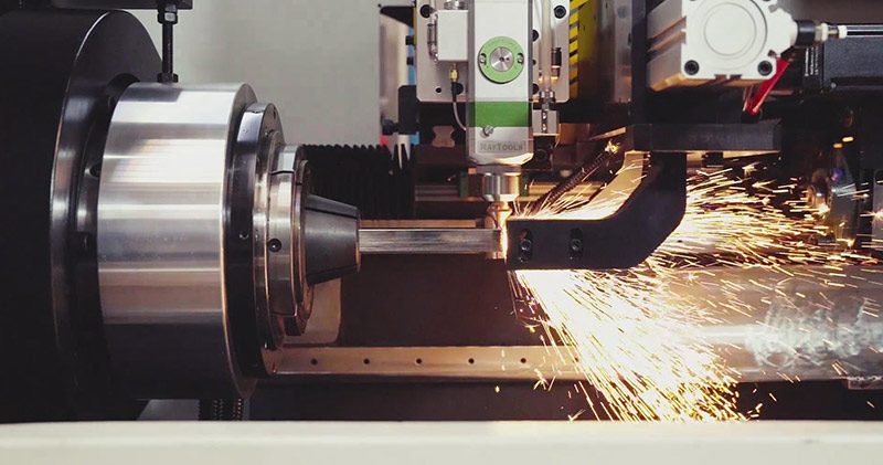 Laser tube cutting machine: a sharp weapon for production capacity increasing of office steel furniture