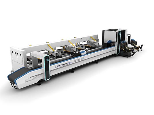 High speed laser pipe cutting machine